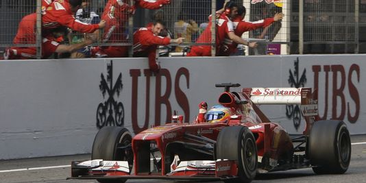 F1 GP Chine victoire Alonso
