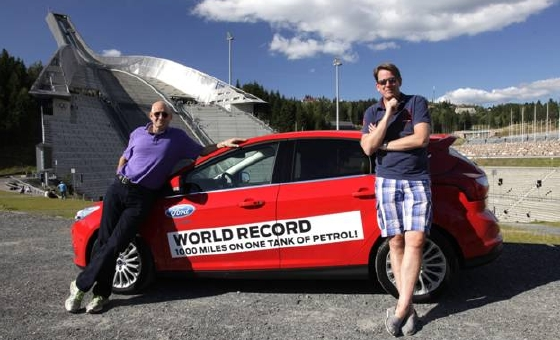 Record d'Eco-Conduite en Ford Focus