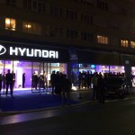 Nouveau showroom Hyundai a Paris 15