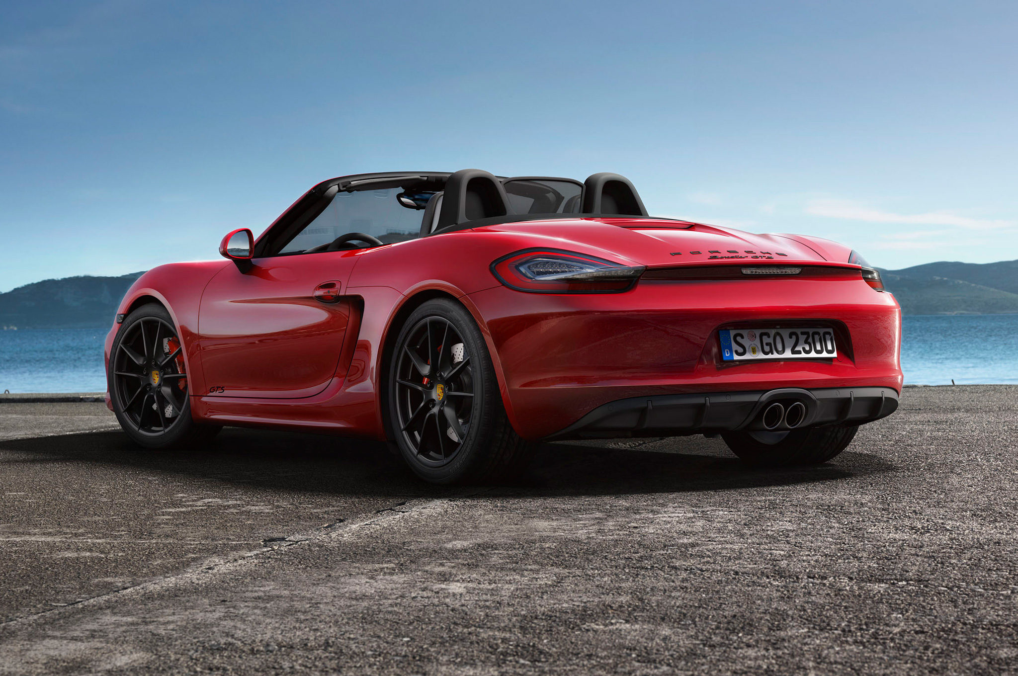 porsche boxster gts arri re auto lifestyle. Black Bedroom Furniture Sets. Home Design Ideas