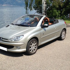 essai occasion 3000 km en peugeot 206 cc roland garros auto lifestyle. Black Bedroom Furniture Sets. Home Design Ideas