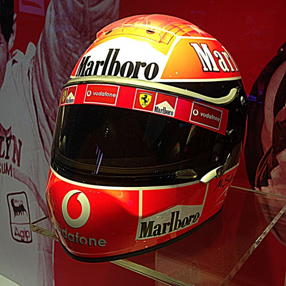 casque Michael Schumacher