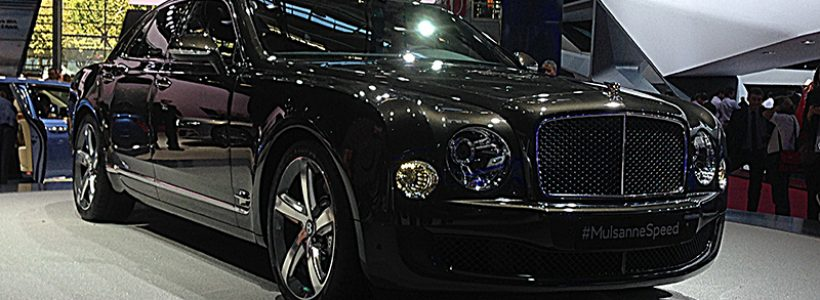 #MondialAuto : le stand Bentley et la Mulsanne Speed