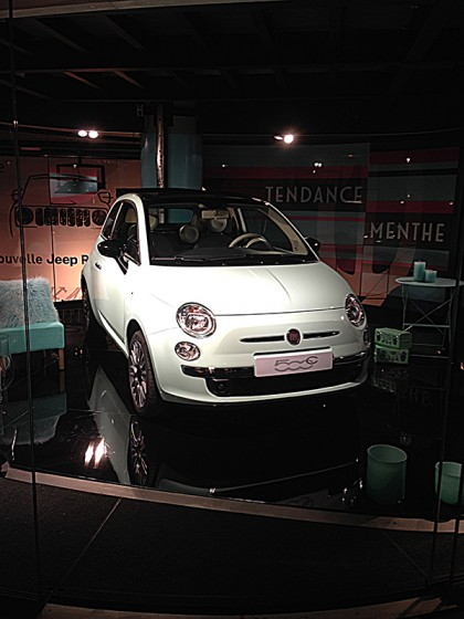 fiat 500 couture a decouvrir au motor village auto. Black Bedroom Furniture Sets. Home Design Ideas