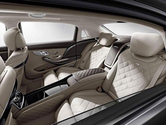 Mercedes-Maybach inside