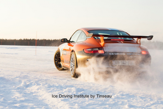 Ice Driving Institute by Tinseau 911