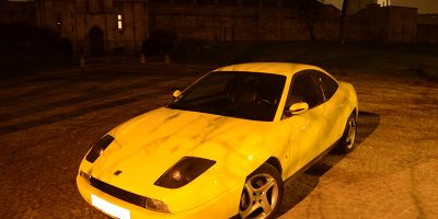 Essai occasion : Fiat Coupe 20V Turbo by night !
