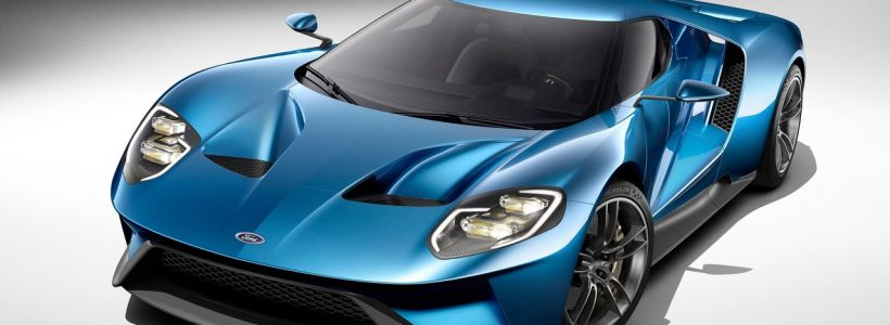 Salon de detroit 2015 : Concept Car Ford GT !