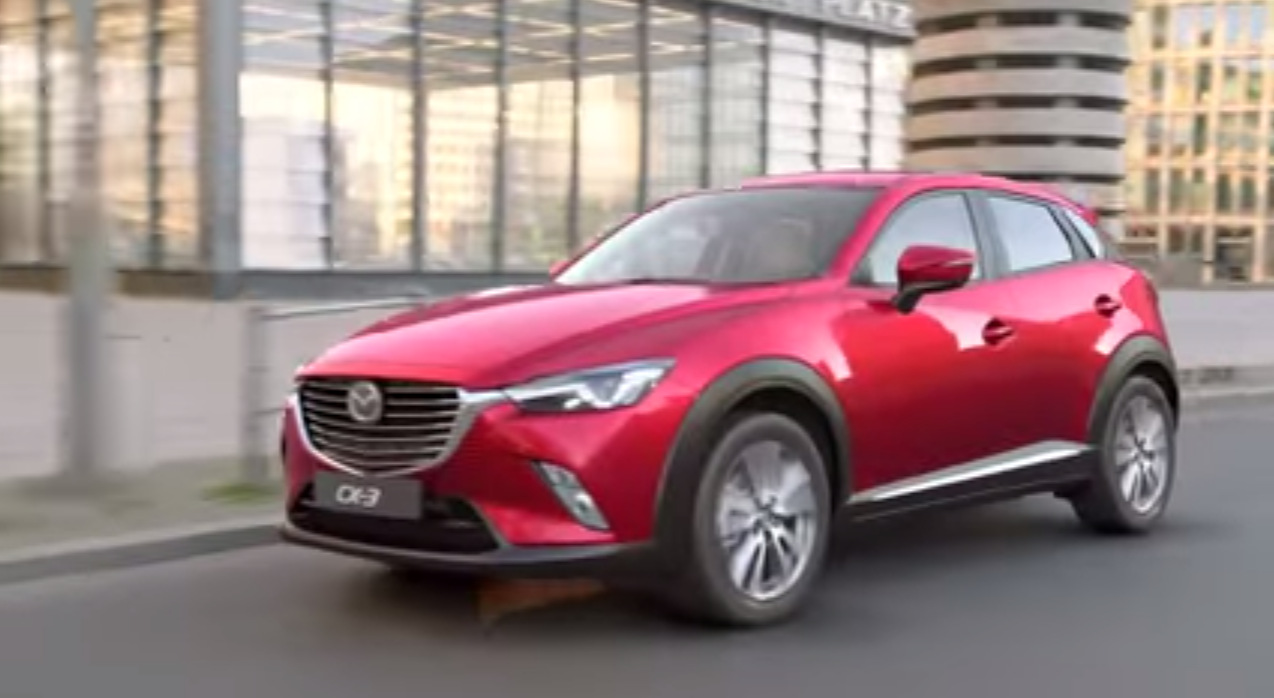 la nouvelle mazda cx 3 s expose en video auto lifestyle. Black Bedroom Furniture Sets. Home Design Ideas