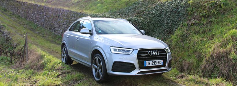 essai audi q3 2 0 tdi 184 ch quattro s tronic restyle auto. Black Bedroom Furniture Sets. Home Design Ideas