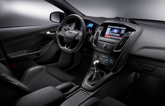 Ford Focus RS inside