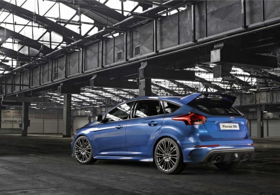 Ford Focus RS rear