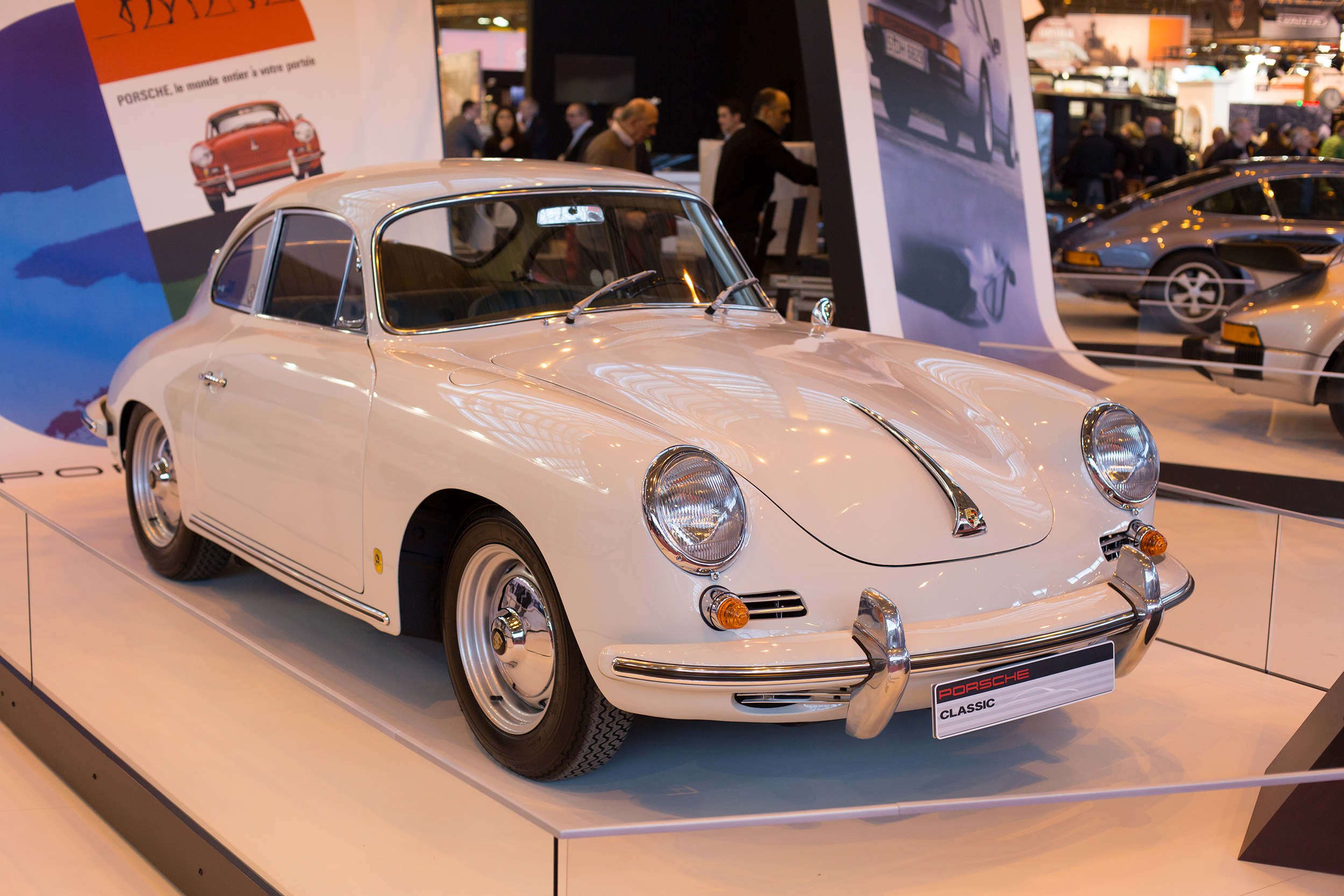 porsche 356 b 1600 retromobile 2015 centre porsche lorient auto. Black Bedroom Furniture Sets. Home Design Ideas