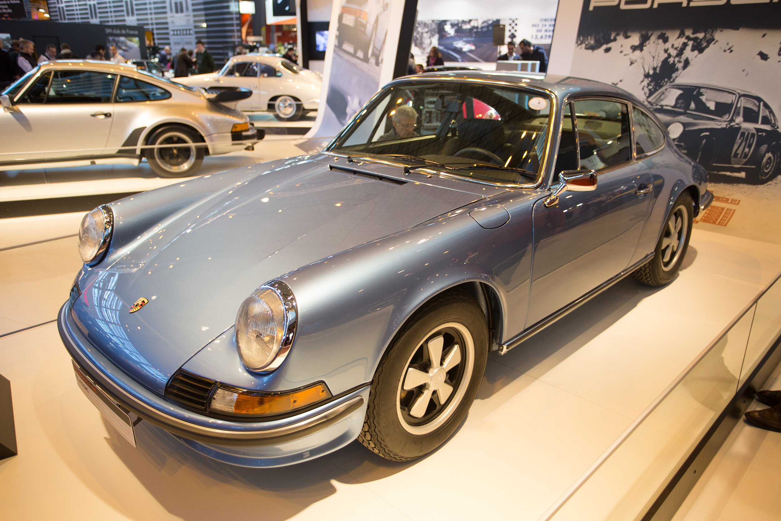 porsche 911 2 4s retromobile 2015 centre porsche rouen auto. Black Bedroom Furniture Sets. Home Design Ideas