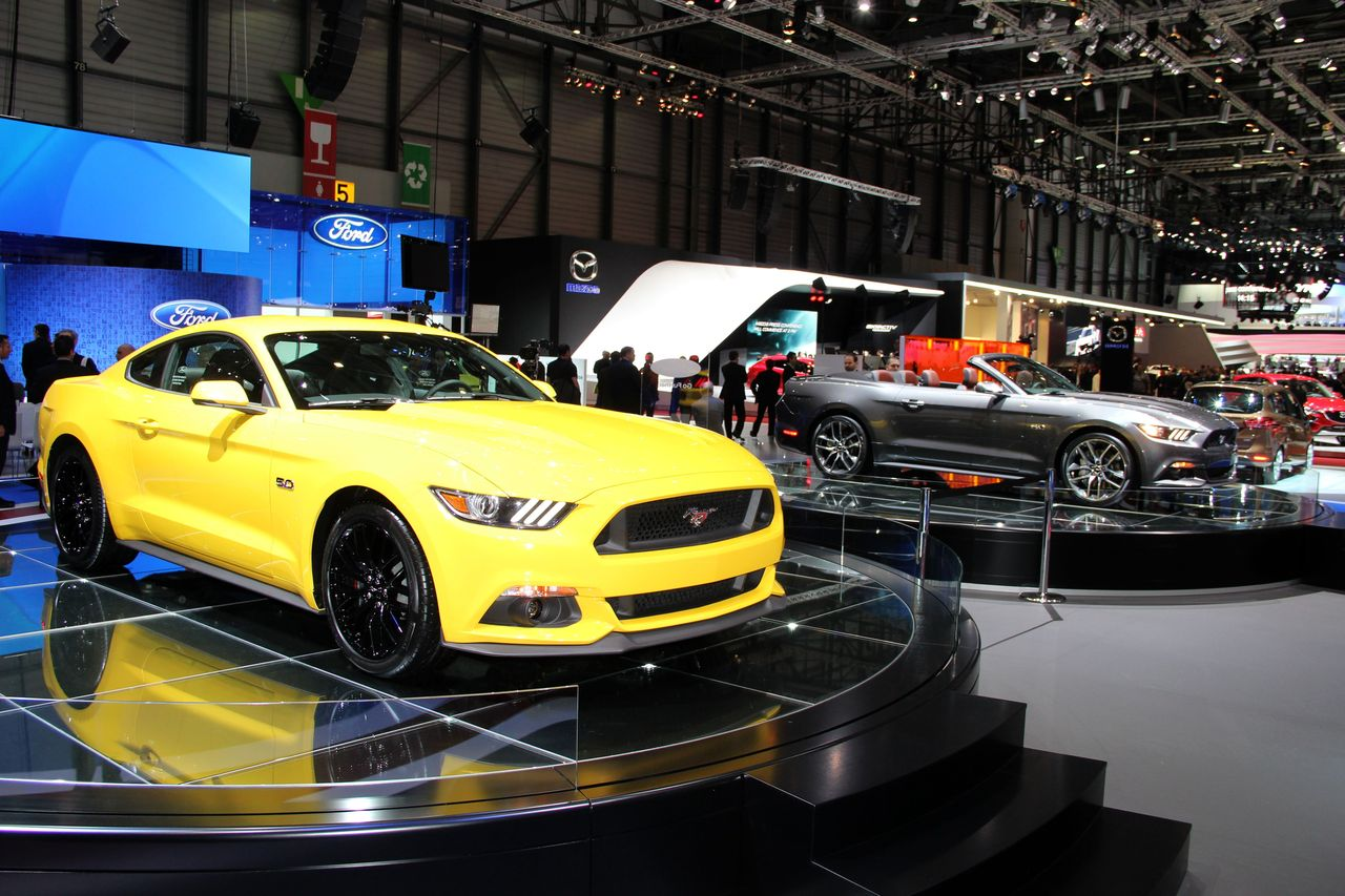 geneve2015 ford le stand sportif auto. Black Bedroom Furniture Sets. Home Design Ideas