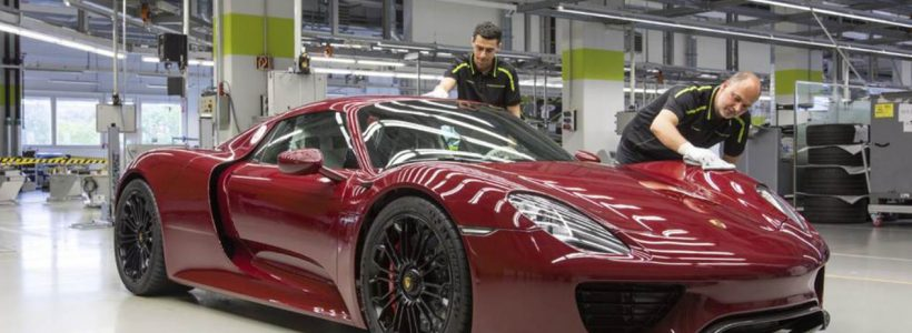 Fin de production pour la Porsche 918 Spyder