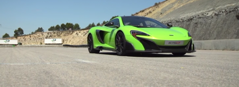 1ere video excitante de la McLaren 675 LT !