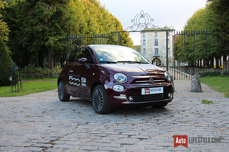 essai nouvelle fiat 500 1 2 8v 69ch club auto lifestyle. Black Bedroom Furniture Sets. Home Design Ideas