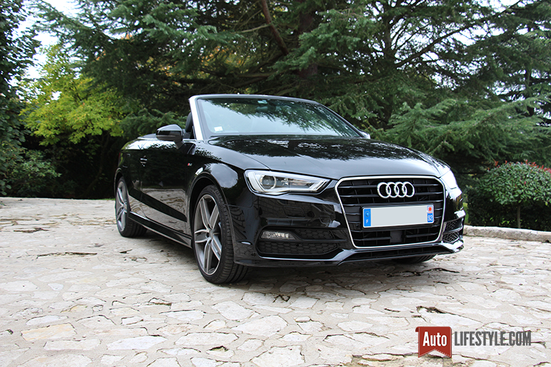 essai audi a3 cabriolet s line 1 8 tfsi 180 ch s tronic auto lifestyle. Black Bedroom Furniture Sets. Home Design Ideas