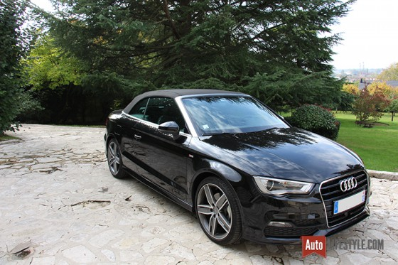 essai audi a3 cabriolet s line 1 8 tfsi 180 ch s tronic auto. Black Bedroom Furniture Sets. Home Design Ideas