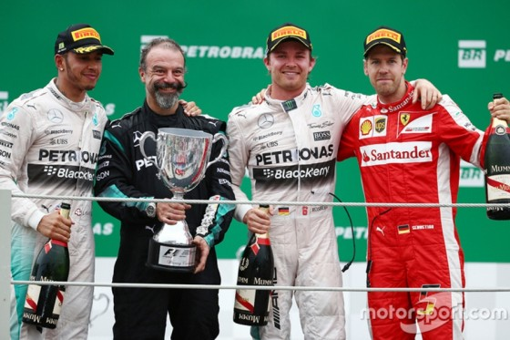 grand prix du bresil 2015 rosberg confirme la seconde place au championnat pilote auto. Black Bedroom Furniture Sets. Home Design Ideas