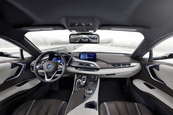 BMW i8 Mirroless Concept