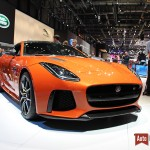 Geneve 2016 : la Jaguar F-type SVR, top model en jogging