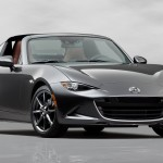 Salon de New York : Mazda MX-5 RF, a toit rigide retractable