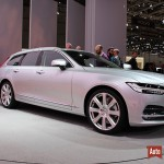 Geneve 2016 : Volvo presente le break le plus elegant du salon, le V90