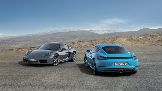 718 Caymanet 718 Cayman S