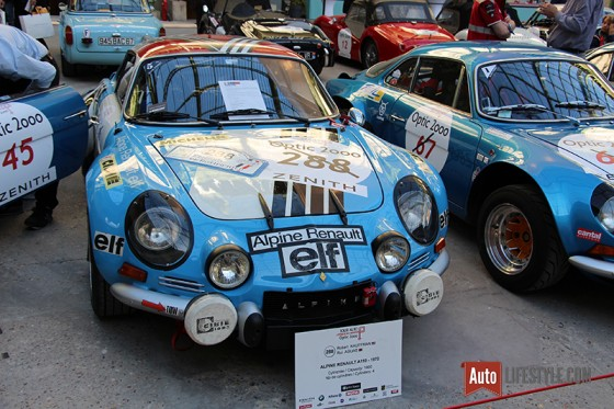 Tour Auto 2016 - Alpine A110