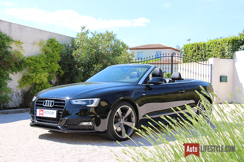 essai occasion audi a5 cabriolet 1 8 tfsi 170 ch s line auto lifestyle. Black Bedroom Furniture Sets. Home Design Ideas