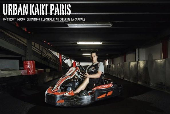 un karting dans un parking a paris 13 auto. Black Bedroom Furniture Sets. Home Design Ideas