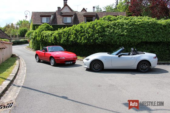 Mazda MX-5 NA vs ND