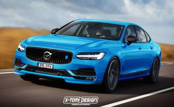 Volvo S90 Polestar illustration