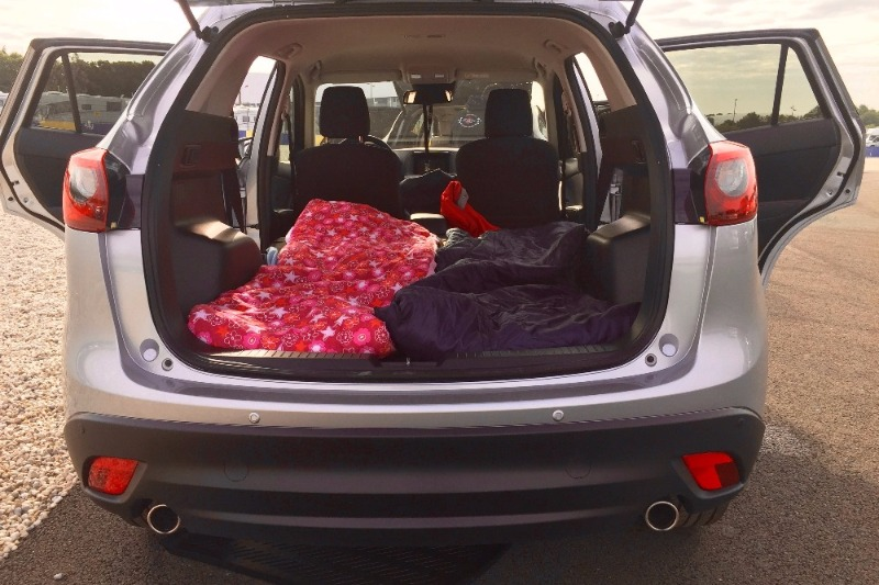 on a teste le camping au mans en mazda cx 5 auto. Black Bedroom Furniture Sets. Home Design Ideas