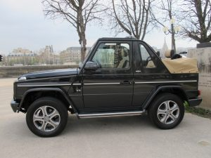 mercedes classe G500 cabriolet final edition