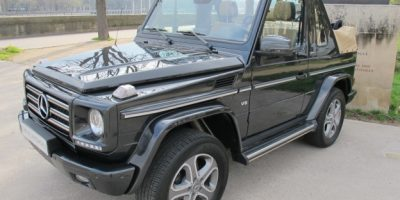 Essai Occasion : Mercedes Classe G500 Cabriolet Final edition 200