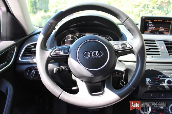 essai occasion audi q3 2 0 tdi ambition luxe quattro s tronic phase 1 auto. Black Bedroom Furniture Sets. Home Design Ideas