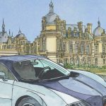 Un rallye de supercars en marge du Chantilly Arts et Elegance Richard Mille