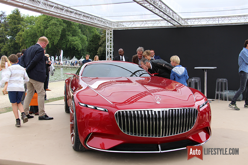 Chantilly art et elegance 2016 vision mercedes maybach 6 for Mercedes benz chantilly