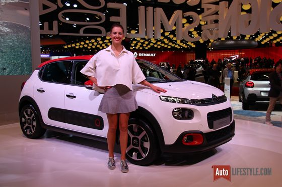 Mondial Automobile 2016 - Citroen C3