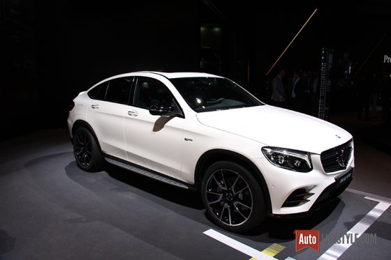 Mondial Automobile 2016 - Mercedes AMG GLC 43 Coupé