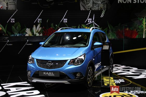 Mondial Automobile 2016 - Opel Karl Rocks