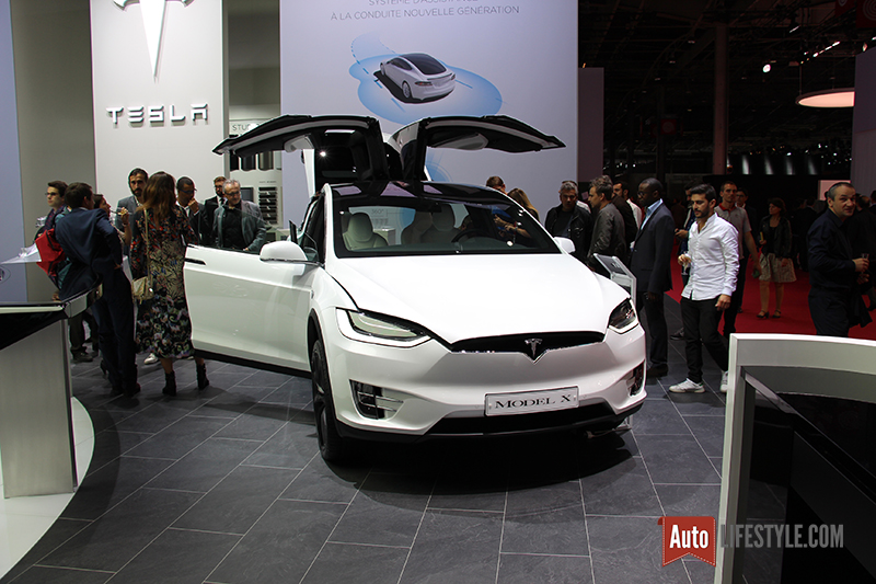 mondialauto2016 tesla le constructeur star du mondial 2016 auto lifestyle. Black Bedroom Furniture Sets. Home Design Ideas