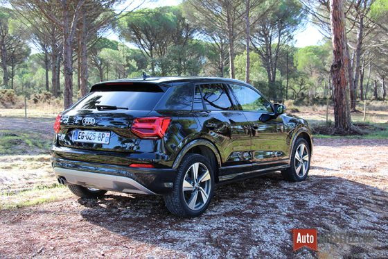 essai audi q2 1 4 tfsi 150 ch s tronic design luxe untaggable auto. Black Bedroom Furniture Sets. Home Design Ideas