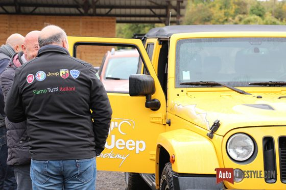 Jeep Academy - briefing