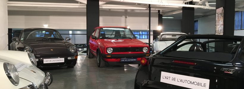 Un showroom bien cache pour nos amis de L' Art de l' Automobile