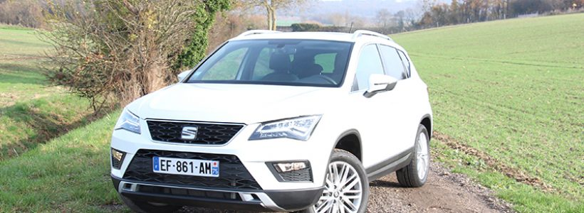 essai seat ateca 2 0 tdi 190 ch dsg 4drive xcellence auto. Black Bedroom Furniture Sets. Home Design Ideas