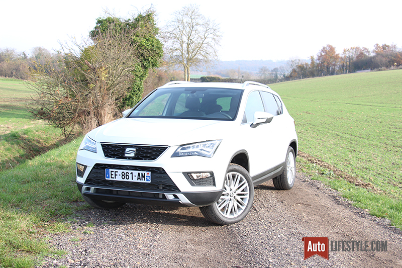 essai seat ateca 2 0 tdi 190 ch dsg 4drive xcellence. Black Bedroom Furniture Sets. Home Design Ideas
